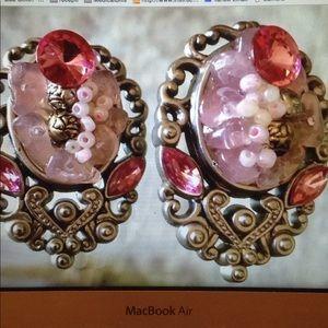 Vintage Two Sisters Earrings